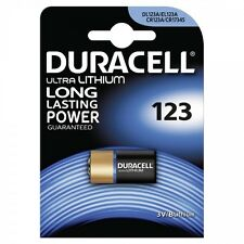 Duracell CR123A Photo Lithium-Batterie, 3,0 Volt, 1600mAh, 1 Stück