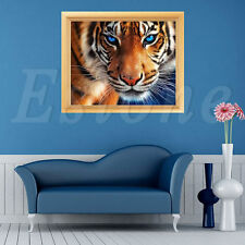 5D Chic Tiger DIY Diamond Painting Cross Stitch Rhinestone Embroidery Home Decor
