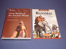 Teaching Co Great Courses DVDs  GREAT BATTLES of the ANCIENT WORLD   new + BONUS