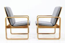 1(4) 60er MAGNUS OLESEN EICHE SESSEL 60s DANISH DESIGN OAK LOUNGE CHAIR by DURUP