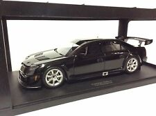 Cadillac CTS-V SCCA 2004 black plain body version 1:18 AUTOart 80427