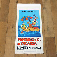 PAPERINO E C. IN VACANZA locandina poster Walt Disney Donald's Magic Summer