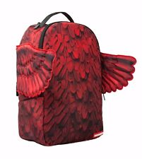 SPRAYGROUND RED WINGS PHOENIX FEATHERS DOPE URBAN SCHOOL BOOK BAG BACKPACK