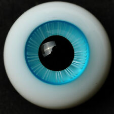NICE 14mm Coulorful(Sky Blue)Iris  Glass BJD Eyes for MSD DOD DZ AOD Volks doll