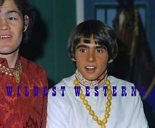 MICKY DOLENZ Monkees RARE CANDID PHOTO Davey DAVY JONES Indian Hindu Guru outfit
