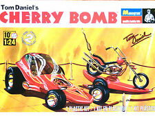 Revell Monogram 1:24 'Cherry Bomb' Tom Daniel Custom Car And M/Cycle Model Kit