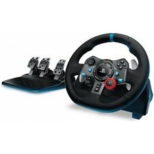 LOGITECH G29 DRIVING FORCE RACING LENKRAD + PEDALE FÜR PS3/PS4/PC LEDER USB
