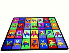 Educational Rug For Schools - DayCare -Kids Room 5' X 8' MY ABC PLACE
