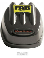 NEW DANELECTRO D-3 FAB METAL DISTORTION GUITAR PEDAL D3