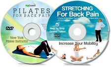 Back Pain Double DVD Set | Get Help For Your Back Ache With Pilates & Stretching