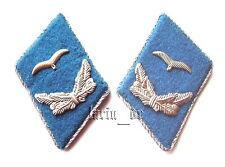 DDR NVA Kragenspiegel Luftwaffe für Uniform -Jacke Luftstreitkräfte Air Forces O