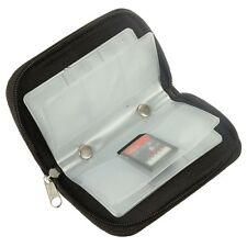 Black Memory Card Storage Carrying Case Holder Wallet forSD/SDHC/MS/DS 3DS Game