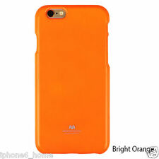 "Genuine Goospery Fluorescent Orange Jelly Case Cover For iPhone 6/6s Plus (5.5"")"