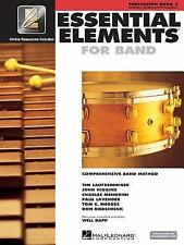 Essential Elements 2000 for Band Book 2 Percussion with EE Download Play Along