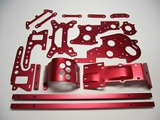 kyosho red CONVERSION ALLOY part set for turbo optima pro salute javelin optima