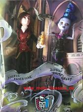 Monster High Villain Valentine & Whisp Dolls 2015 SDCC Exclusive 2-pack ultrarar
