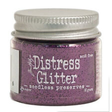 Tim Holtz   Distress Glitter 18gm jar  SEEDLESS PRESERVES  Purple, Grape
