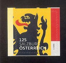 """3313 Österreich 2017 Heraldik """" Salzburg  125 cent"""" sk   **"""