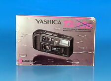 Yashica T3/T3D Bedienungsanleitung Instructions Mode d'emploi - (25969)