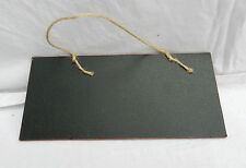Small Hanging Chalk Board / Black Board / Message Board - Wall Hanging - NEW