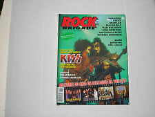 Rock Brigade magazine from Brazil, KISS cover and article, no posters