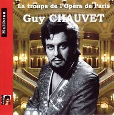 Guy CHAUVET / La Troupe de l'Opera de Paris / (1 CD) / NEUF