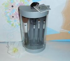 The Body Shop Deluxe Makeup Brush Collection & Brush Purse NEW