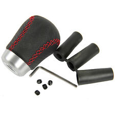 Manual Transmission Car Truck Gear Shift Knob Leather Shifter Lever Cover