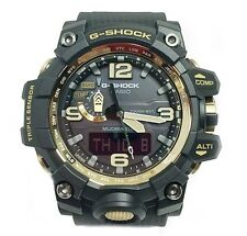 CASIO G-Shock GWG1000GB-1A MudMaster MultiBand 6 Solar Triple Sensor Black Gold