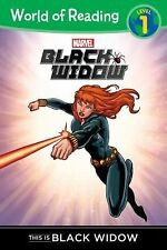 World of Reading: Black Widow This Is Black Widow by Clarissa S. Wong (2015,...