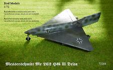 Messerschmitt Me 262 HG III Delta   1/72 Bird Models Resinbausatz / resin kit