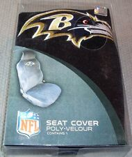 NFL NIB CAR SEAT COVER BY FREMONT DIE - BALTIMORE RAVENS