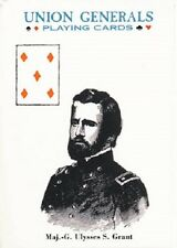 Union Generals Card Game Playing Cards New