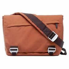 Bluelounge bonobo eco-friendly recyclée pet sac messenger satchel-rouille orange