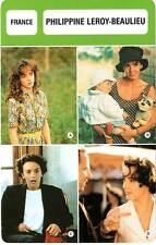 FICHE CINEMA :  PHILIPPINE LEROY-BEAULIEU -  France (Biographie/Filmographie)