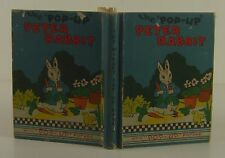 C. CAREY CLOUD The Pop-Up Peter Rabbit FIRST EDITION 1934