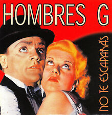 CD SINGLE promo HOMBRES G no te escaparas 2003