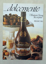 E213 - Advertising Pubblicità - 1986 - VENETIAN CREAM THE ORIGINAL FRANCOLI