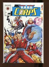 THE H.A.R.D. CORPS # 1 1993 SIGNED BY BOB LAYTON-NM/MT-VALIANT COMICS-HARD CORPS