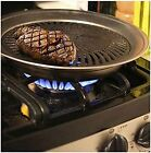 Healthy Indoor Stove top Smokeless BBQ Grill Kitchen Stainless Steel Barbecue