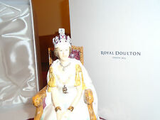 Royal Doulton HN5582 Queen Elizabeth ll Diamond Jubilee Figurine MIB