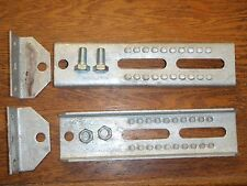 "BOAT TRAILER BOLSTER BRACKETS BUNK 8"" 241 81210 SWIVEL PAIR BOATINGMALL PARTS"