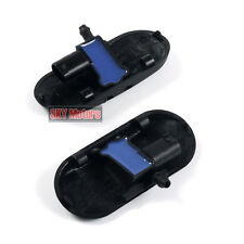 Windshield Wiper Washer Spray Nozzles Heating Jet Pair For AUDI A4 B7 A6 C6 RS4