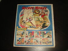 MICKEY MOUSE WEEKLY January 8th 1949 UK Disney Comic