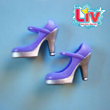 Spin Master Toys~LIV DOLL'S PURPLE HIGH-HEELED PUMPS~Mary-Jane Fashion Shoes