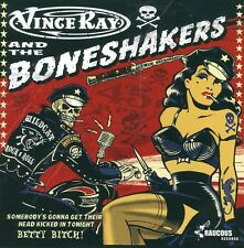 VINCE RAY & THE BONESHAKERS Somebody's Gonna Their Head Kicked In Tonight CD EP