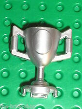 Coupe minifig cup  LEGO SPORT MetallicSilver trophy / 10655 8864 4737 8898 8899