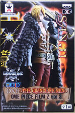 "BANPRESTO One Piece DXF The Grandline Men Film Z vol.3 "" Sanji "" Figure Japan"