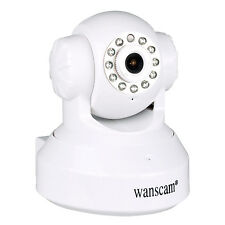 WANSCAM Two-way Audio IR Cut Night Vision Pan/Tilt Wifi Wireless 1.0MP IP Camera