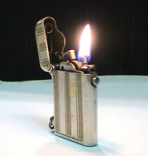 BRIQUET Essence * THORENS * RARE Old Petrol  LIGHTER * FEUERZEUG * ACCENDINO
